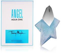 Thierry <b>Mugler Angel Aqua Chic</b> EdT 50ml in duty-free at airport Kazan