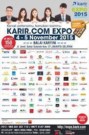 com ayo datang ke job fair karir com expo  line up sahaan