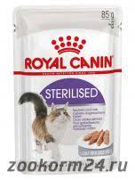 zookorm24.ru — <b>Royal Canin Sterilised</b> Mousse Pate (<b>паучи</b> в ...