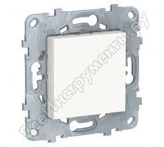 <b>Заглушка Schneider Electric</b> UNICA 45х45 белая NU586618 ...
