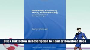 best book profitability accounting theory and methodology the 00 47