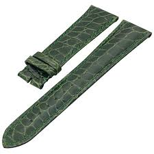 <b>ZLIMSN</b> Customized <b>Crocodile Leather Watch</b> Bands - Circle ...