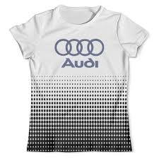 """Футболка с полной запечаткой (мужская) """"Авто <b>Audi</b>"""" #2516783 ..."""