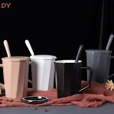 DY original geometric <b>mugs Polygonal ceramic cups Creative coffee</b> ...