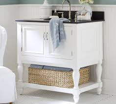 white storage unit wicker: bathroom under sink storage under sink white cabinet storage ideas