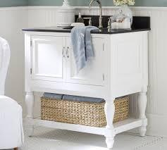 white storage unit wicker: bathroom under sink storage under sink white cabinet storage ideas