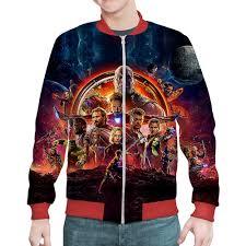 "Бомбер ""Avengers: Infinity <b>War</b>"" #2466228 от balden - <b>Printio</b>"