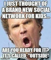 I just thought of a brand new social network for kids meme | Funny ... via Relatably.com