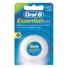 <b>Зубная нить Oral-B</b> (Орал-Би) Essential Floss (Невощеная), 50 м ...