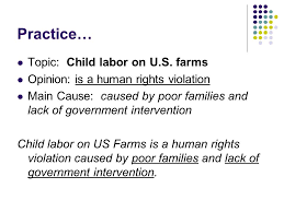 conclusion for human rights violations essay   essay topicstopic child labor on u s farms opinion is a human rights violation