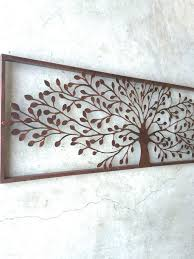life art metal wall decor rustic metal wall art metal wall decor metal tree wall by honeywoodhome