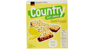Buy Country Banana Protein Cereal <b>Bars 3 Pieces</b> (105g) cheaply ...