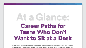 careers for young adults who don t like sitting still adhd