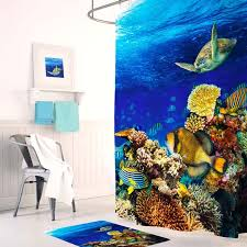 <b>Штора для ванной Tropikhome</b> Digital Printed Aquarium, TRP.SC ...