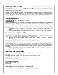 registered nurse resume registered nurse resume example  sample    nursing