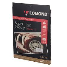Купить <b>Фотобумага</b> для принтера <b>Lomond</b> односторонняя супер ...