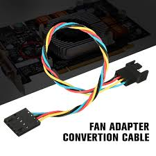 <b>1Pcs</b> 22cm Fan Adapter Conversion Line 5 Pin <b>4 Wire</b> Interface ...