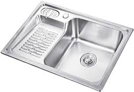AMYAL Kitchen Sink Inset <b>304 Stainless Steel Balcony</b> Laundry with ...