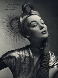 <b>Claude Saint</b>-Cyr (Millinery)1951 Feathers Turban, Necklace, Max Boinet - 19673-claude-saint-cyr-millinery1951-feathers-turban-necklace-max-boinet-hprints-com
