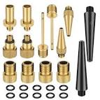 <b>24pcs</b>/<b>Set Bike Valve Conversion</b> Nozzles Bicycle Valve Adapter SV ...