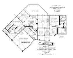 Chestatee River Cottage House Plan   House Plans by Garrell    chestatee river cottage house plan   st floor plan