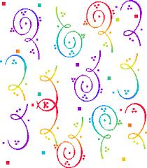 Resultado de imagen de serpentinas de colores