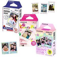 Genuine <b>Fujifilm</b> Instax Mini 8 Film 3 Packs Airmail/ Candy Pop ...