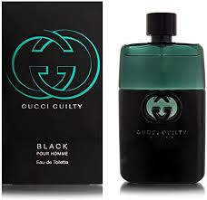 <b>Gucci Guilty Black Pour</b> Homme by Gucci for Men - 1.6 oz EDT Spray