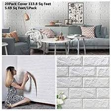 10pcs 3d wall stickers marble brick waterproof diy self adhesive decor background for kids room living wallpaper sticker