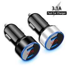 3.1A LED дисплей двойной USB <b>Автомобильное зарядное</b> ...