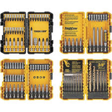 DEWALT 100-<b>Piece</b> Hex Shank Screwdriver <b>Bit Set</b> in the ...