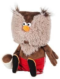 Мягкая игрушка <b>Maxitoys</b> ДуRашки <b>Сова</b> & Coffee 25 см — купить ...