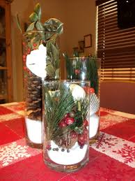 cheap christmas decor: beautiful christmas centerpieces to enhance the beauty of your decoration ideas  also white wall and