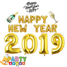 18-PC Happy <b>New Year</b> 2019 <b>Cheers</b> Champagne Wine Balloon ...