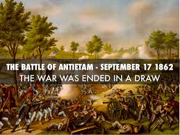 ���the Battle of Antietam in September 1862������������������������