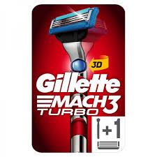 Бритвенный станок <b>Gillette Mach3 Turbo</b> 3D купить в ...
