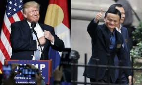Image result for Jack Ma with Trump