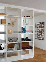 living room dividers ideas attractive: surprising pine wood book shelves wall divider