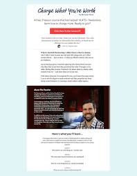 how to get new clients facebook ads double your lancing my email course landing page