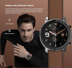 Huami <b>AMAZFIT GTR 47mm Smart</b> Watch. in 2020 | Gtr, Leather ...
