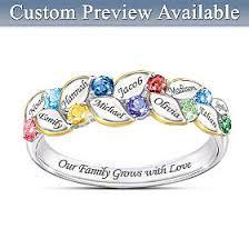 <b>Personalized Rings For Mom</b> - Bradford Exchange