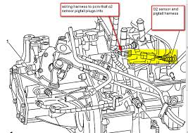 2005 chevrolet cobalt oxygen sensor the wires are different colors graphic