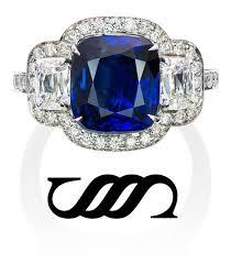 Овальное <b>серебряное кольцо с синей</b> эмалью и золочеными ...