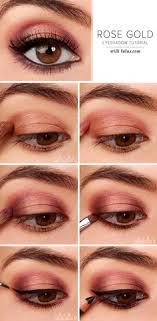 lulu s how to rose gold eyeshadow tutorial at lulus