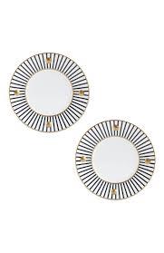 <b>Набор из 2-х</b> тарелок Delphos Antracite BERNARDAUD — купить ...