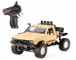 <b>Краулер Aosenma Offroad</b> Desert Car 4WD RTR 1:16 2.4G Желтый