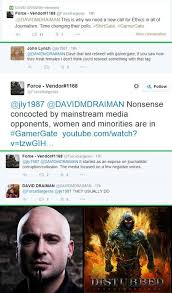 looks like someone got 'disturbed' | GamerGate | Know Your Meme via Relatably.com