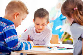 Image result for kids working together in school
