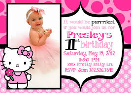 hello kitty st birthday invitations hello kitty 1st birthday invitations 2100 x 1500 560 x 400