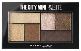 Maybelline New York <b>Палетка теней для</b> век The city mini ...